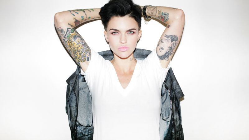 Ruby Rose, photo, 4k (horizontal)