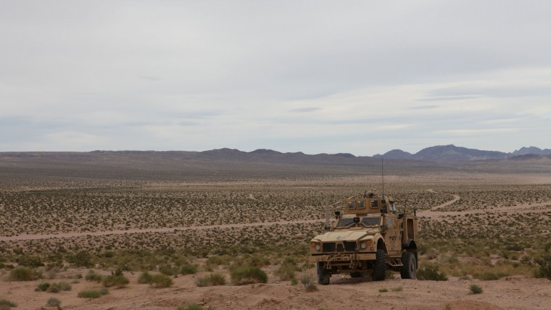 M-ATV, Oshkosh, MRAP, TerraMax, infantry mobility vehicle, field, desert (horizontal)