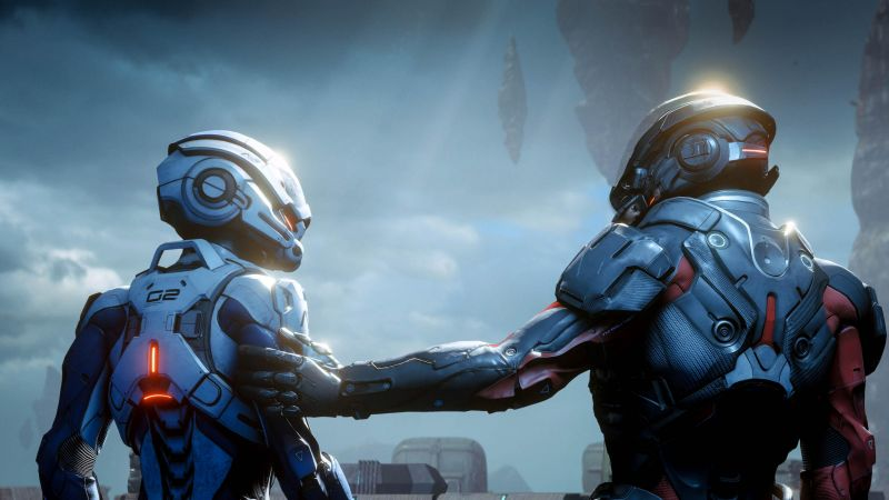 Mass Effect: Andromeda, screenshot, 4k (horizontal)