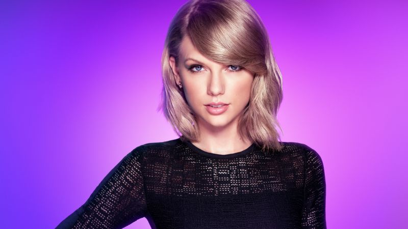 Taylor Swift, photo, blonde, 5k (horizontal)