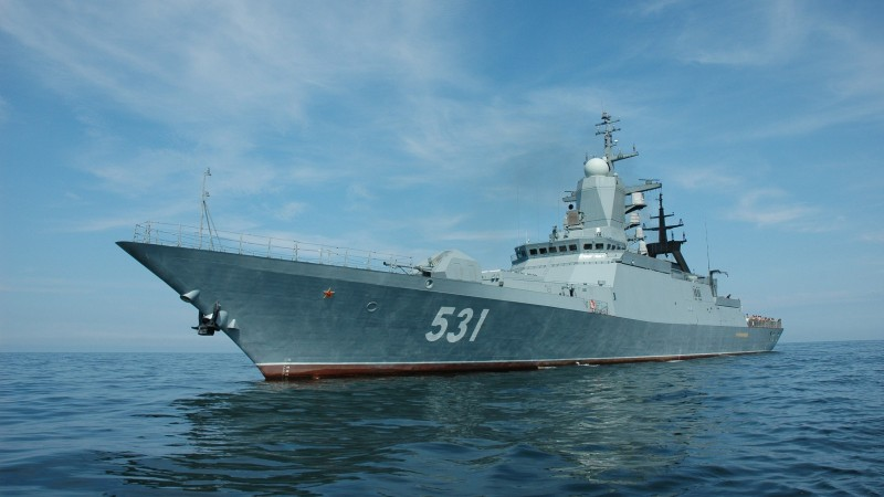 corvette, Soobrazitelnyy, Russian Navy, Steregushchiy class, Smart, warship, Russia, sea (horizontal)