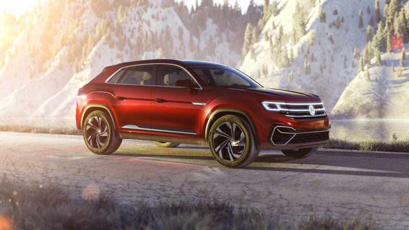 VW Atlas Cross Sport, SUV, Cars 2019 (horizontal)