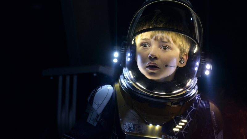 Lost In Space Season 1, Max Jenkins, TV Series, 4k (horizontal)