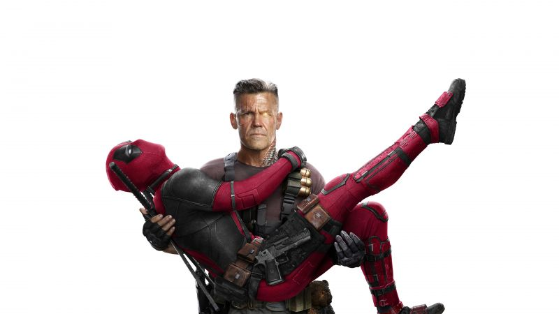 Deadpool 2, Ryan Reynolds, Josh Brolin, 5k (horizontal)