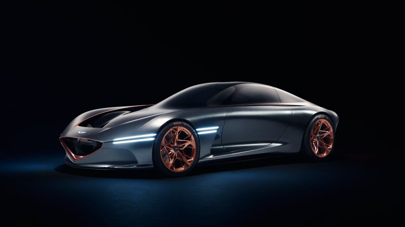 Genesis Essentia, sport car, electric cars, Concept, 4k (horizontal)