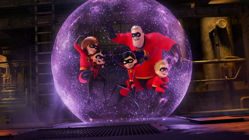 The Incredibles 2, 4k (horizontal)