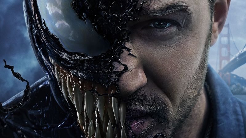 Venom, Tom Hardy, 5k (horizontal)