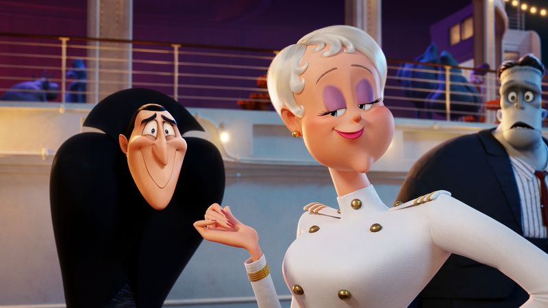 Hotel Transylvania 3: Summer Vacation, 4k (horizontal)