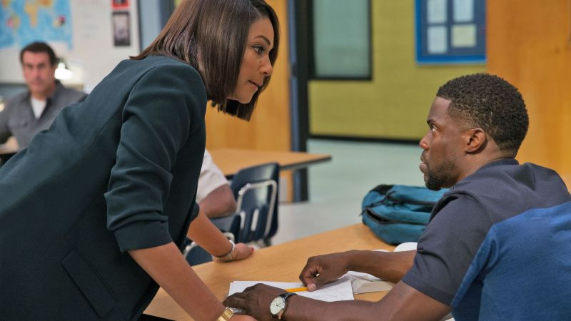 Night School, Kevin Hart, Tiffany Haddish, 4k (horizontal)