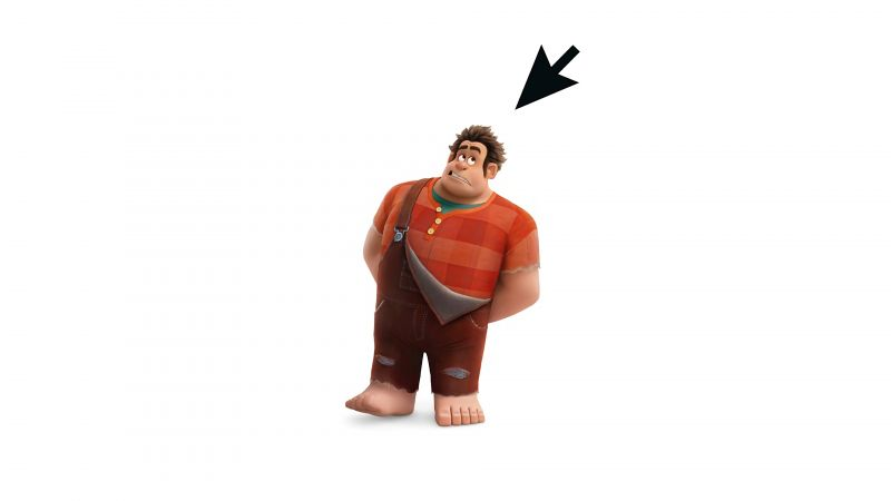 Ralph Breaks the Internet: Wreck-It Ralph 2, 4k (horizontal)
