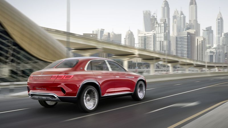 Vision Mercedes-Maybach Ultimate Luxury, electric cars, 5k (horizontal)