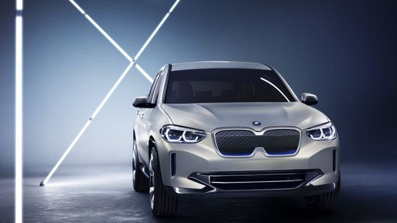 BMW iX3, electric cars, 4k (horizontal)