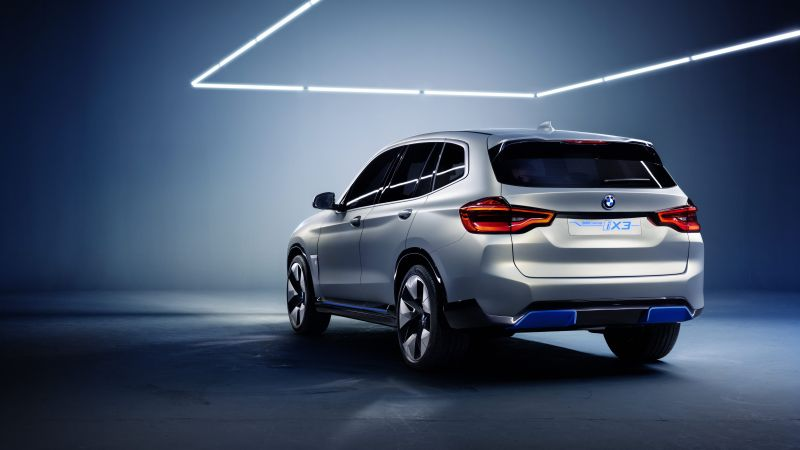 BMW iX3, electric cars, 8k (horizontal)