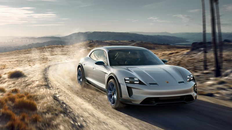 Porsche Mission E Cross Turismo, electric cars, 4k (horizontal)