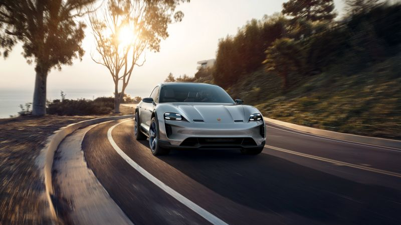 Porsche Mission E Cross Turismo, electric cars, Concept, 4k (horizontal)