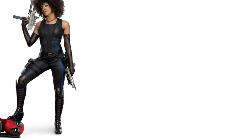 Deadpool 2, Zazie Beetz, 4k (horizontal)