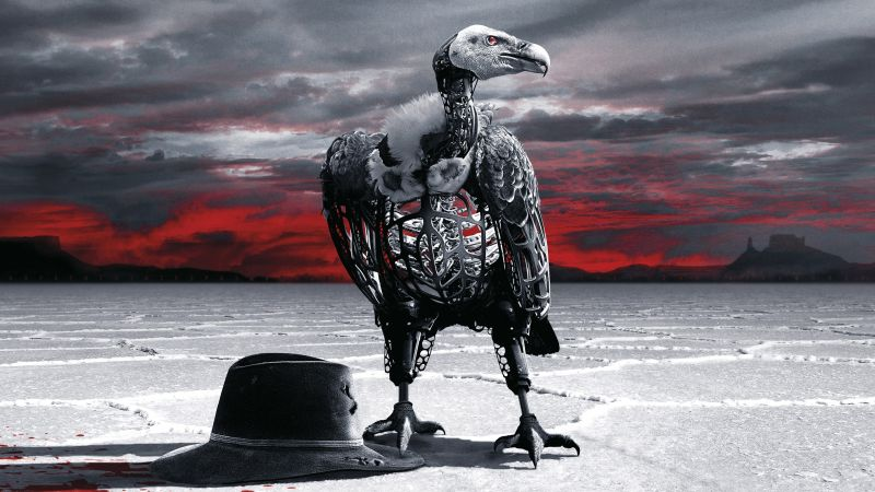 Westworld Season 2, Eagle, TV Series, 4K (horizontal)