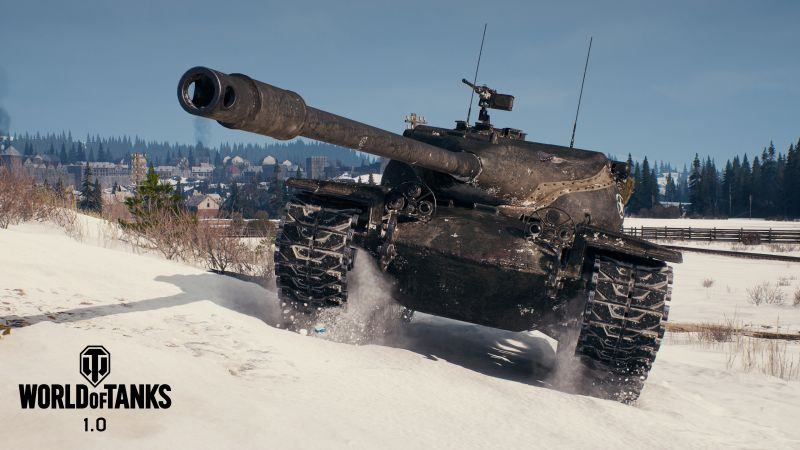 World of Tanks 1.0, Erlenberg, T57, 4K (horizontal)
