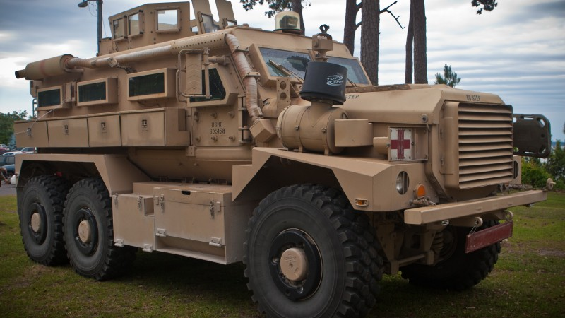 Cougar vehicle, MRAP, infantry mobility vehicle, armoured vehicle, U.S. Army, USMC, Cougar HE (horizontal)