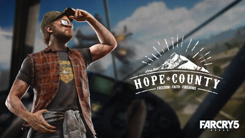 Far Cry 5, Hope County, poster, Think Divine, 4K (horizontal)