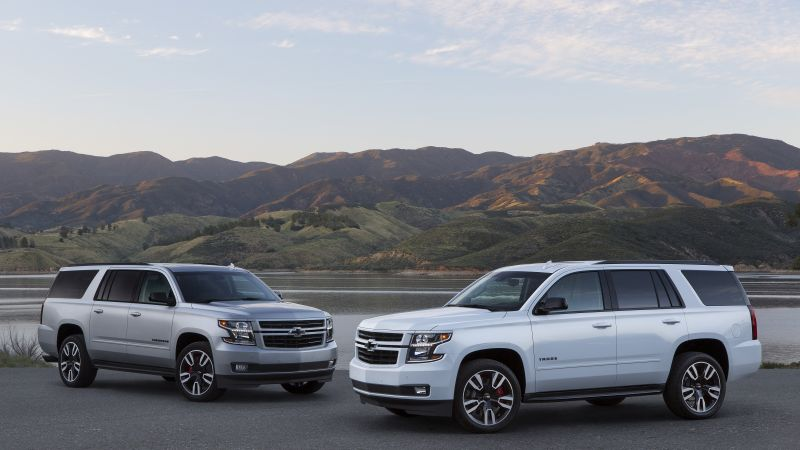 Chevrolet Suburban RST Performance Package, 2019 Cars, SUV, 4K, 5K (horizontal)