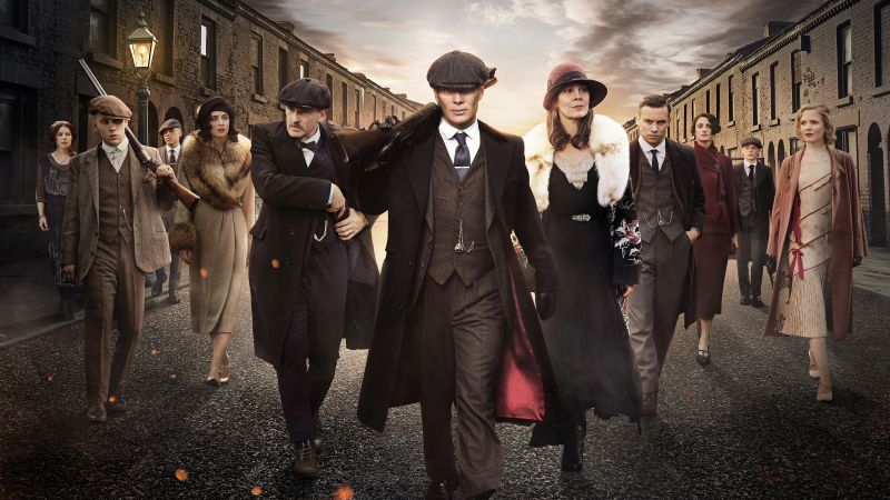 Peaky Blinders, TV-series, 4K (horizontal)