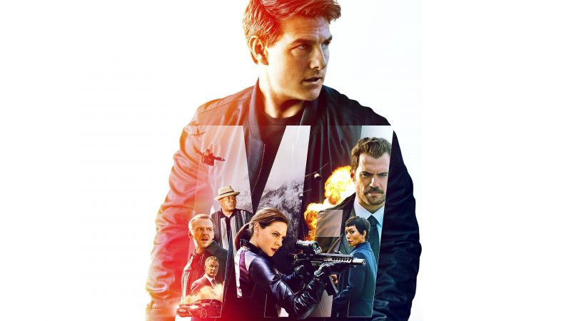 Mission: Impossible - Fallout, poster, Tom Cruise, 4K (horizontal)