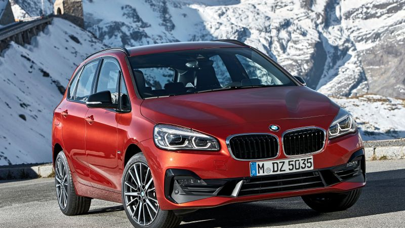 BMW 2-Series Active Tourer, 2019 Cars, 4K (horizontal)