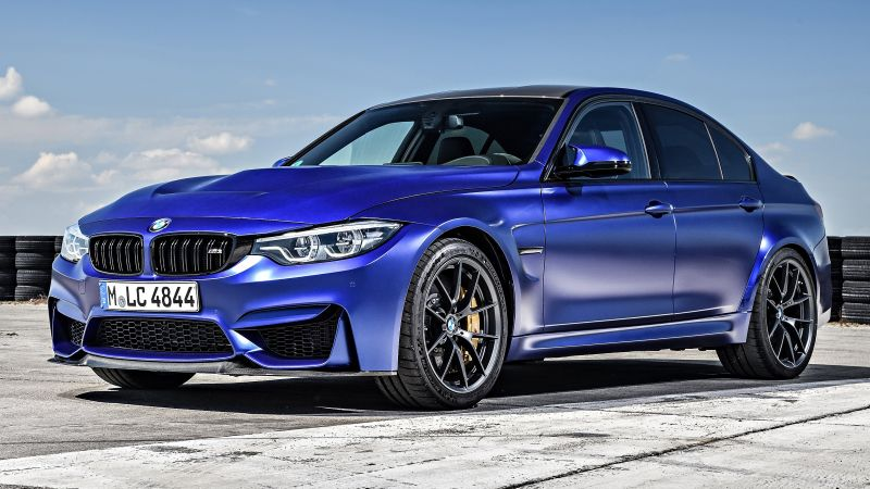 BMW M3 CS Special-Edition, Cars 2018, 4K (horizontal)