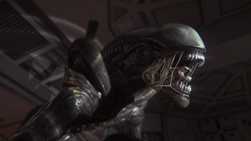 Alien Isolation, game, Survival Horror, alien, creature, spaceship, screenshot, 4k, 5k, PC (horizontal)