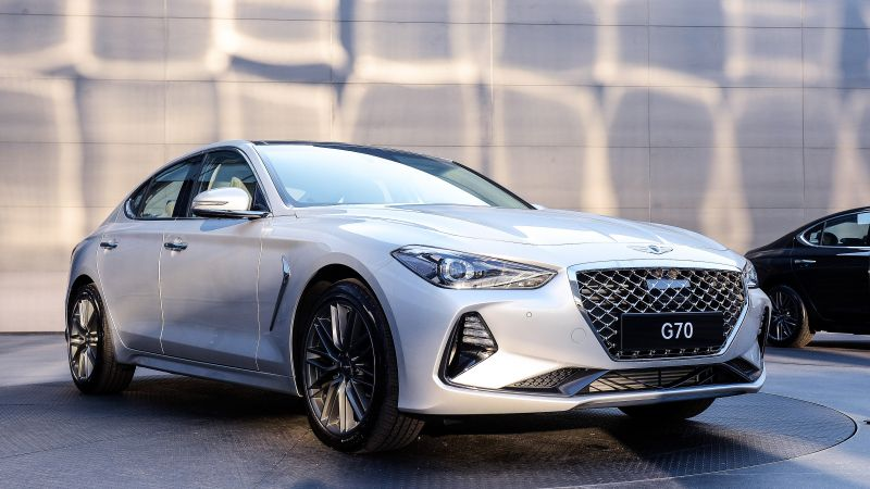 Genesis G70, 2019 Cars, Luxury cars, 4K (horizontal)