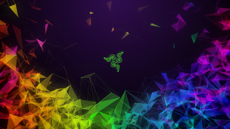 Razer, colors, geometry, 4K (horizontal)