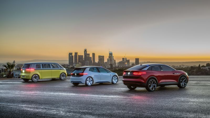 Volkswagen ID Buzz, Volkswagen ID, Volkswagen ID Crozz, 2021 Cars, electric car, 4K, 5K (horizontal)
