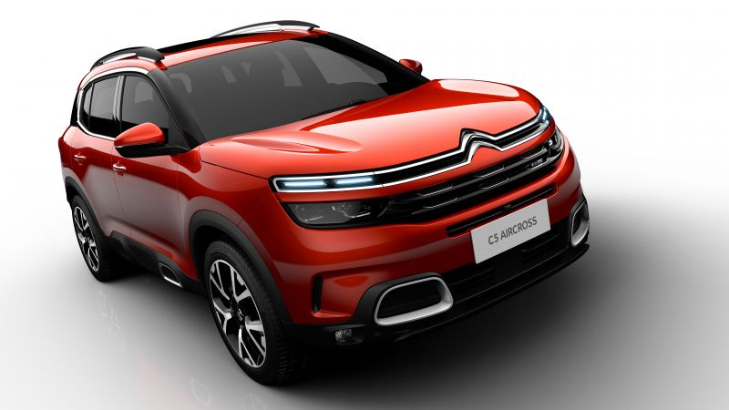 Citroen C5 Aircross, 2019 Cars, SUV, 4K, 8K (horizontal)