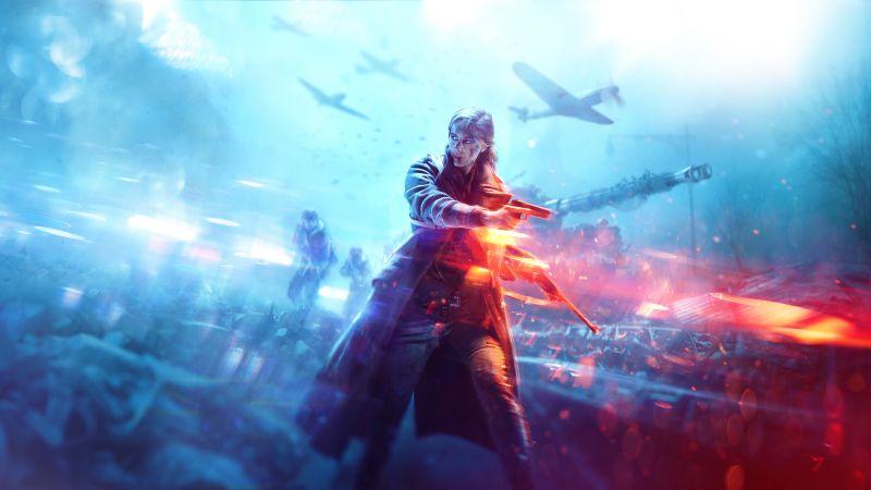 Battlefield 5 Poster 4K Horizontal