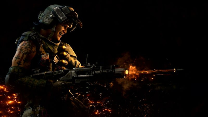 Call of Duty Black Ops 4, screenshot, 4K (horizontal)