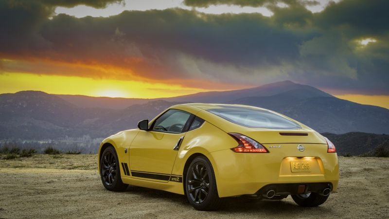Nissan 370Z Heritage Edition, 2019 Cars, 4K (horizontal)