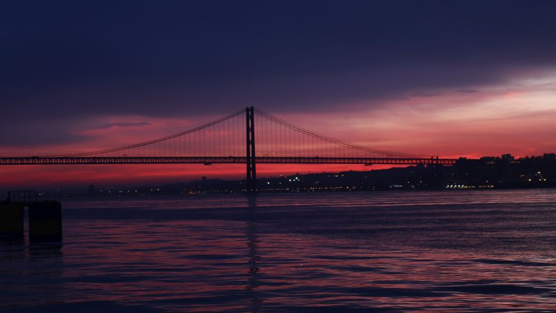 Bridge, Silhouette, 6K (horizontal)