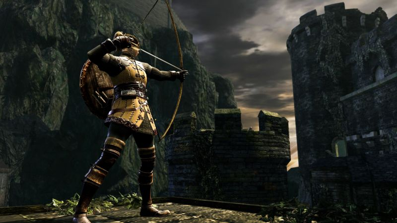 Dark Souls Remastered, screenshot, 4K (horizontal)
