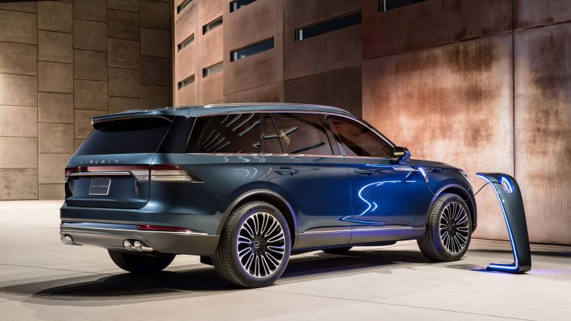 Lincoln Aviator, SUV, 2019 Cars, electric car, 4K (horizontal)