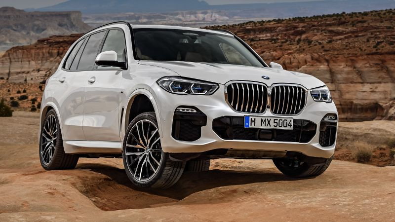 BMW X5, SUV, 2019 Cars, 4K (horizontal)