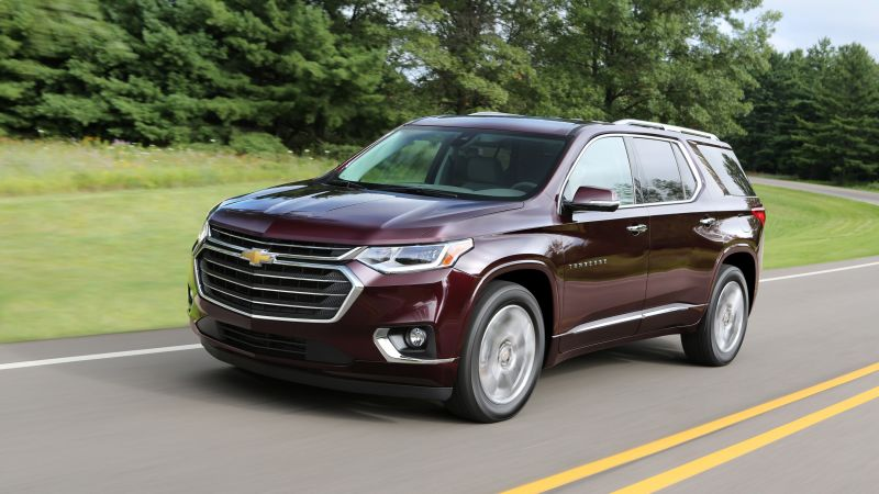 Chevrolet Traverse, SUV, 2018 Cars, 4K (horizontal)