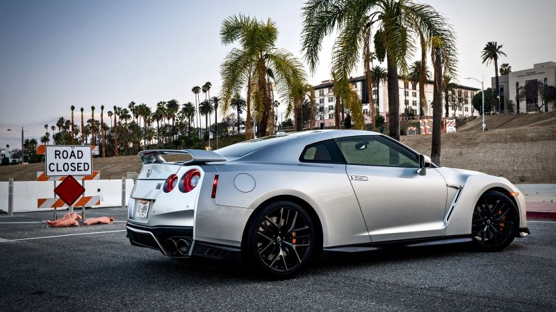 Nissan GT-R Premium, 2018 Cars, luxury cars (horizontal)