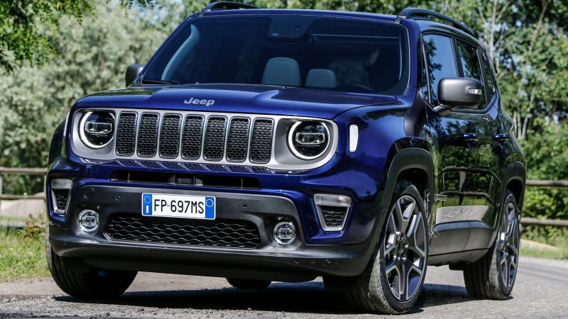 Jeep Renegade, SUV, 2019 Cars, 5K (horizontal)