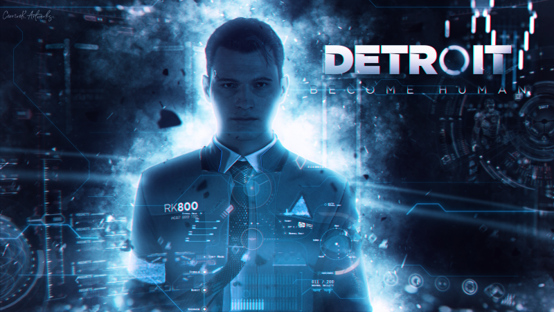 Detroit: Become Human, poster, 4K (horizontal)