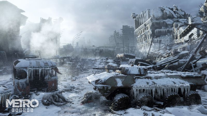 Metro Exodus, E3 2018, screenshot, 4K (horizontal)