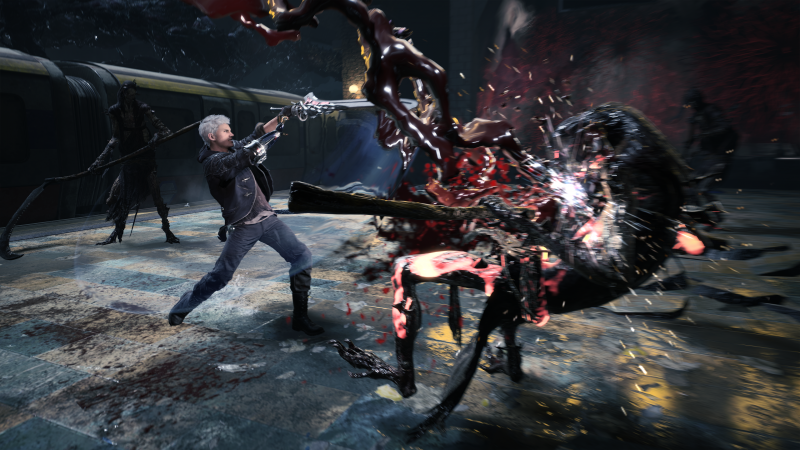 Devil May Cry 5, E3 2018, screenshot, 4K (horizontal)