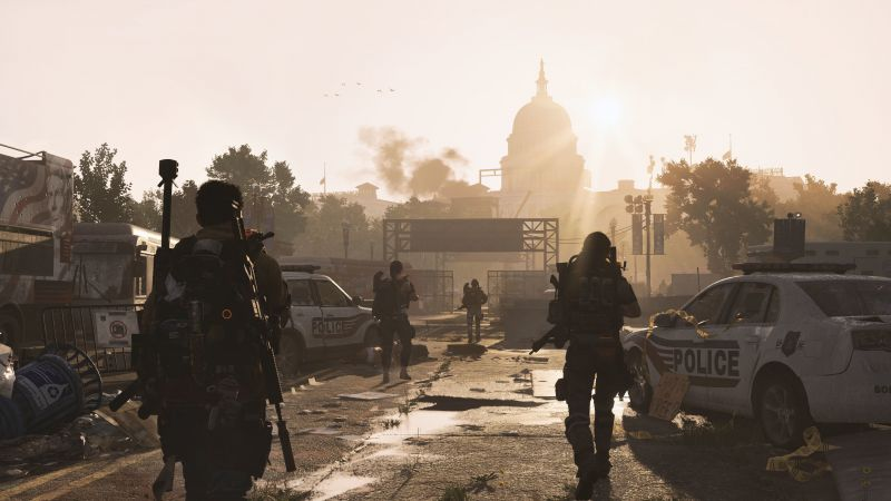 Tom Clancy's The Division 2, E3 2018, screenshot, 4K (horizontal)