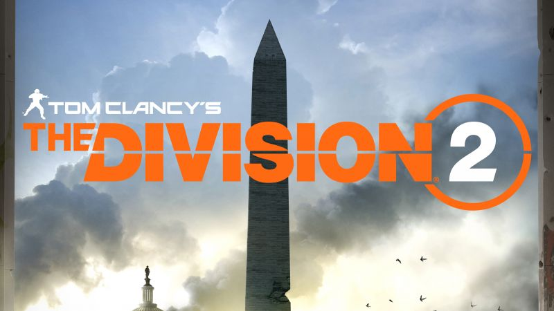 Tom Clancy's The Division 2, E3 2018, poster, 4K (horizontal)