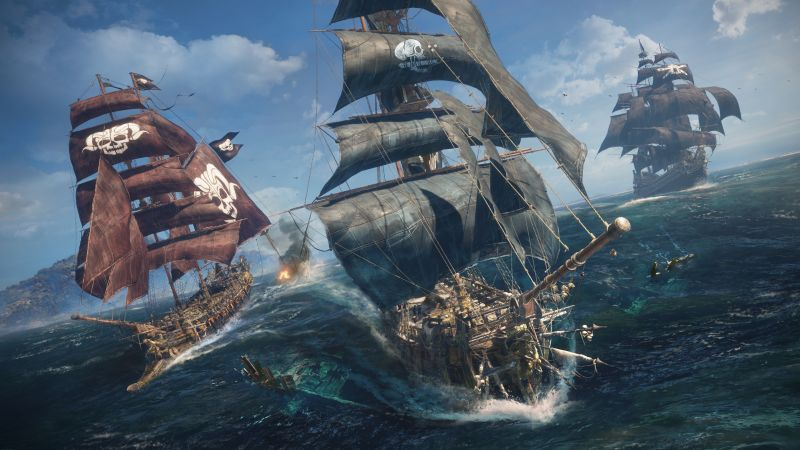 Skull & Bones, E3 2018, screenshot, 4K (horizontal)
